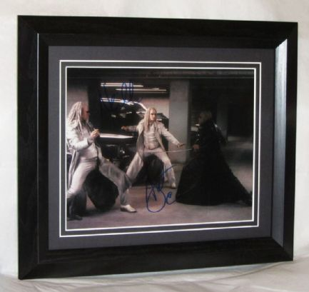 "A206MT NEIL & ADRIAN RAYMENT - ""MATRIX - THE TWINS"" SIGNED"